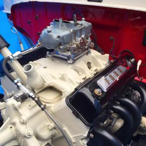 Ford Yblock Engine in a Unibody Ford