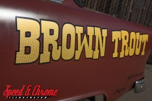 """Blown 1955 Chevy """"The Brown Trout"""""""