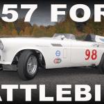 "1957 Ford Thunderbird #98 Factory Race Car ""The Battlebird"""