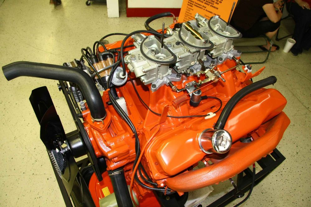 medium resolution of never one to let bygones be bygones mopar employed holley s multi carburetion techniques for the venerable six pack six barrel carb setups found on the