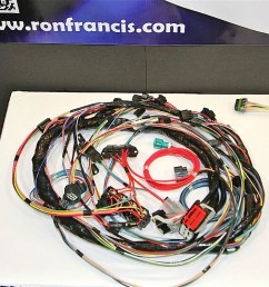 sema 2012 ron francis wiring kit simplifies 4 6 liter ford swaps ford engine swap wiring harness [ 1200 x 800 Pixel ]
