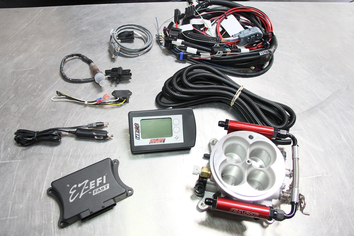 hight resolution of installing fast u0027s ez efi fuel injection system enginelabs mix fast efi wire harness