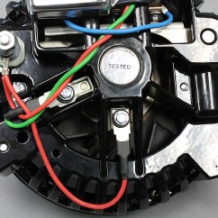 Vw Alternator Conversion Wiring Diagram 8145 20 Defrost Timer One Wire Alternators Are They Better Or Just Easier To Hook Up External Voltage Regulators Eliminated And Built Into The Itself