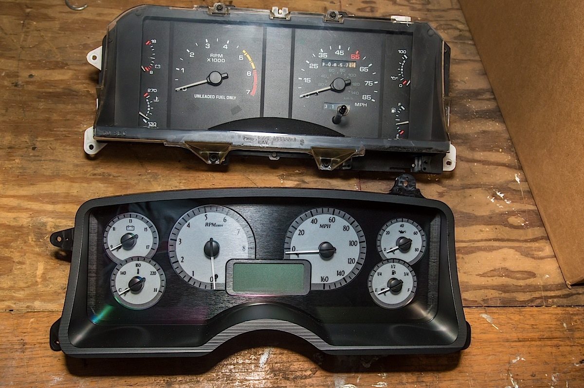 hight resolution of install and review dakota digital vhx instruments for fox body street muscle