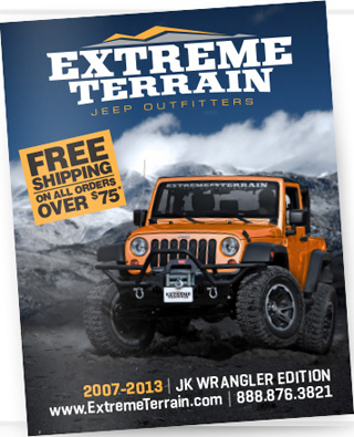 Jeep Parts Magazine : parts, magazine, Extreme, Terrain, Hundreds, Wrangler, Parts, Catalog, Online, Xtreme