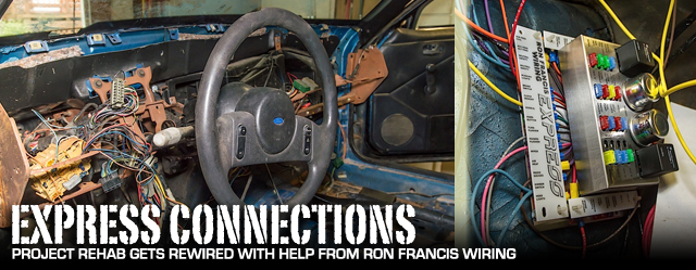 Car Wire Harness Diagrams Rehab Rewired Upgrading Fox Body Wiring With Ron Francis