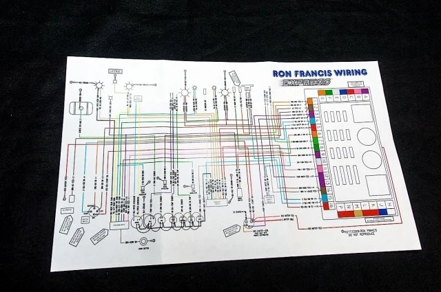 ez wiring harness diagram freightliner columbia rehab rewired: upgrading fox body with ron francis - stangtv