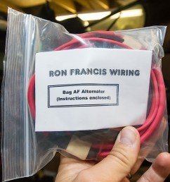 first wires to be installed are in bag af for the alternator  [ 1200 x 798 Pixel ]