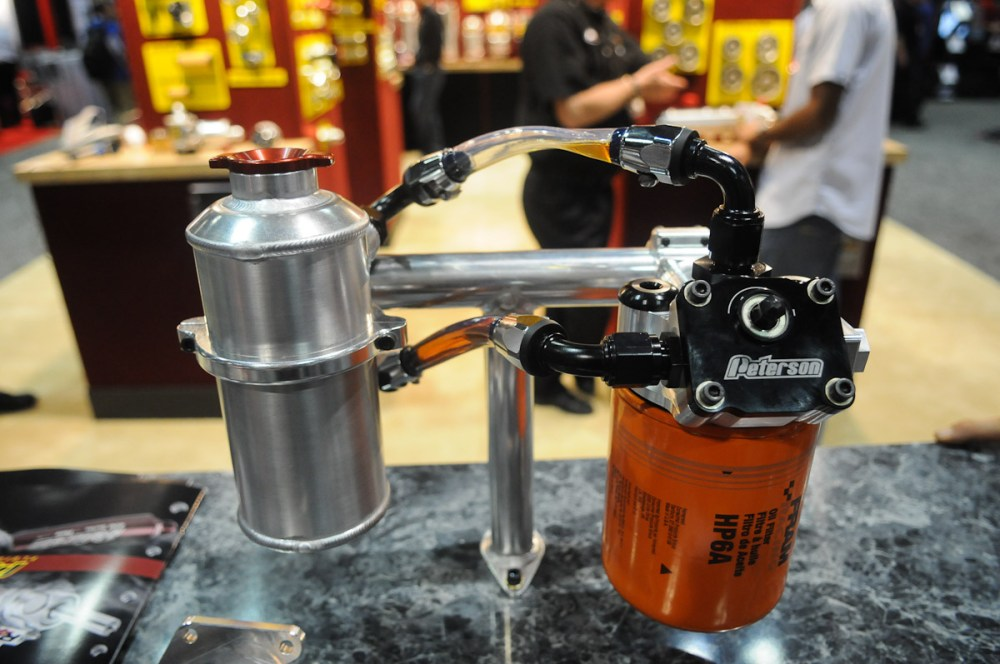 medium resolution of we got our first look at peterson s new filter mount and primer more than three years ago at the pri show the unique new piece from the oil system