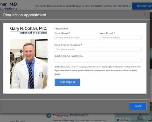 Dr. Cohan - Speed of Like website