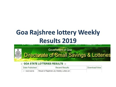 Goa Lottery Rajshree Power Ball Results 02-07-2019 Today At
