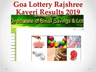 Goa Lottery Rajshree Pink Results 10/09/2019 Released Now