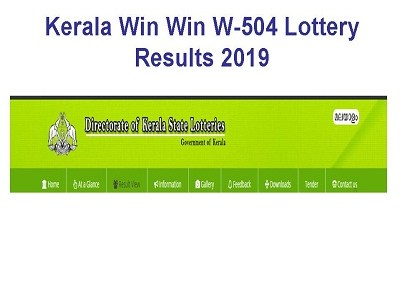Kerala State Lottery Win Win W-508 Results Today 15 04 2019