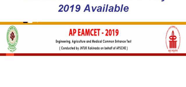 AP EAMCET Answer Key 2019 Download Question Paper Solution