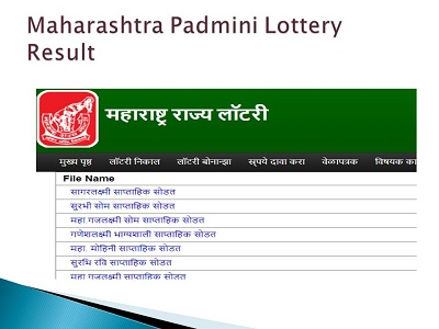 Maharashtra State Lottery Results 27-08-2019|Padmini Weekly