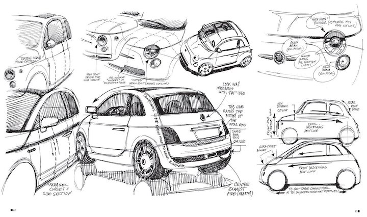 » Fiat 500, The Design Book