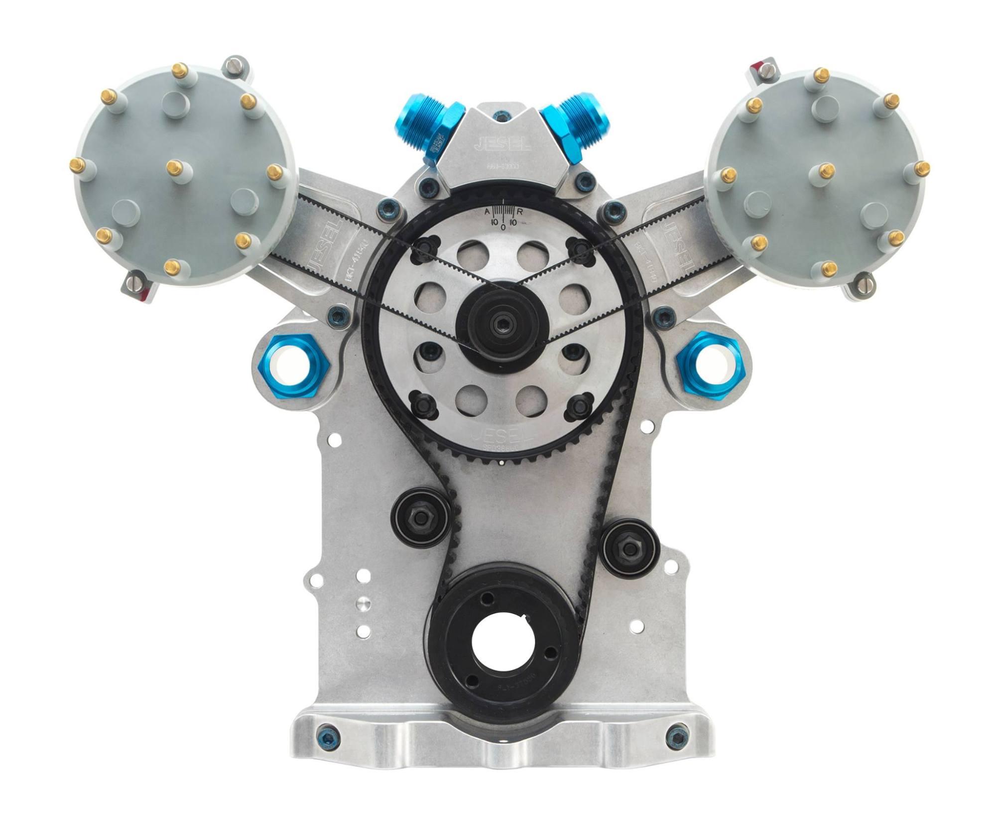 hight resolution of jesel introduces new chrysler hemi belt drive distributor drive combo speed revolutions