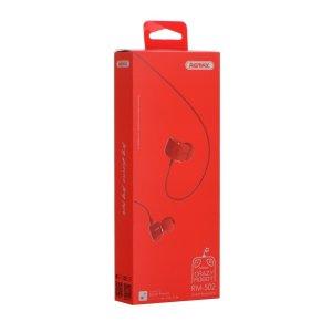 Original Remax 502 Kopfhörer in Rot