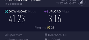 Charter Cable Speed Test