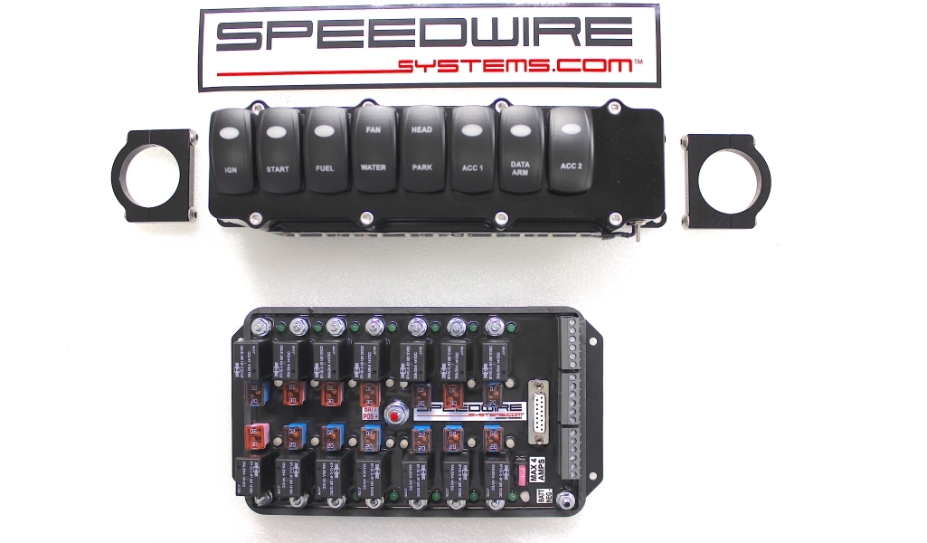 8 Switch Panel, Naturally Aspirated With 14 Relay