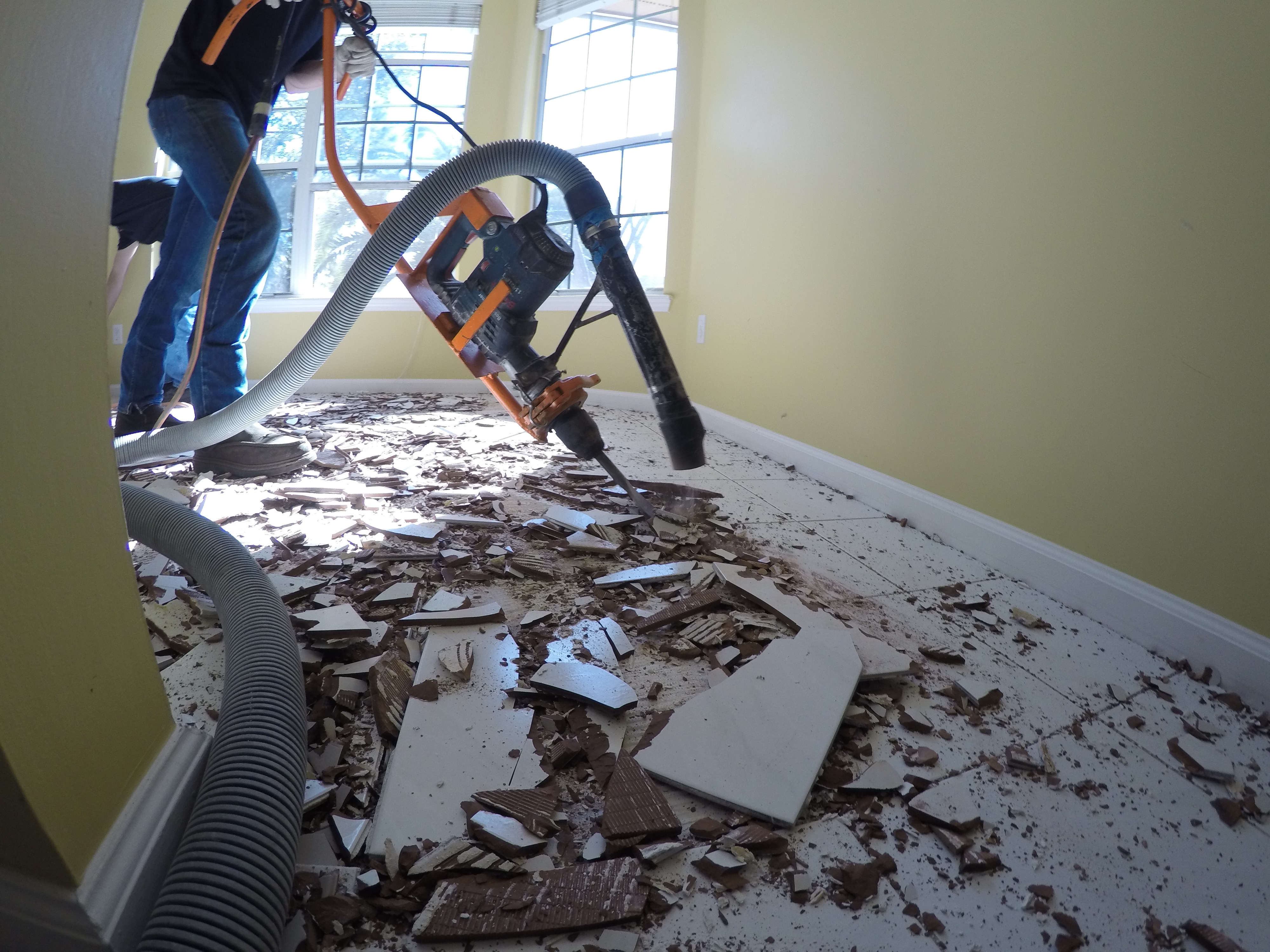 tile removal the easy way speedy
