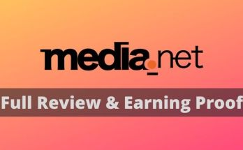 Media.net Earning Proof