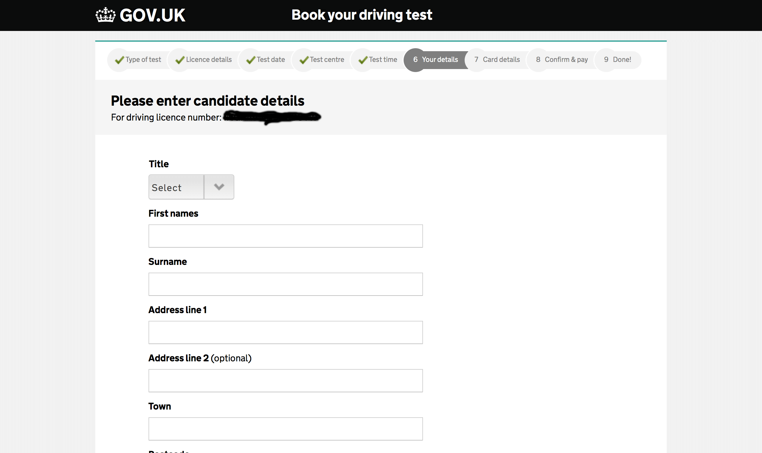 Book Driving Test (Guide on how to book your practical