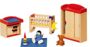 Meubelset Babykamer II- Inrichting poppenhuis