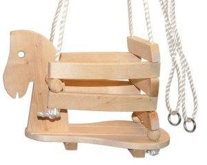 Babyschommel - Peuterschommel Paard