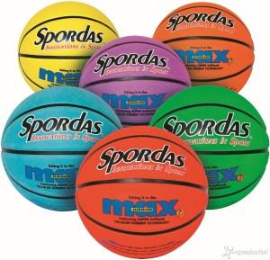 Basketbal Spordas Max Kleur - Maat 7