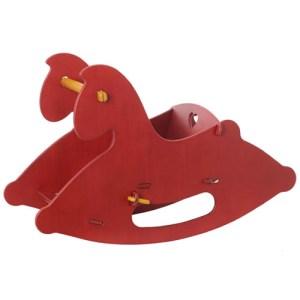 Moover Hobbelpaard rood