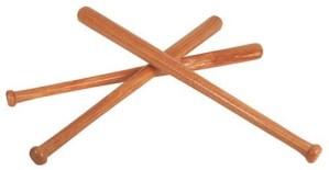 Honkbalknuppel hout 70 cm.