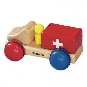 Houten Mini-Ambulance Fagus