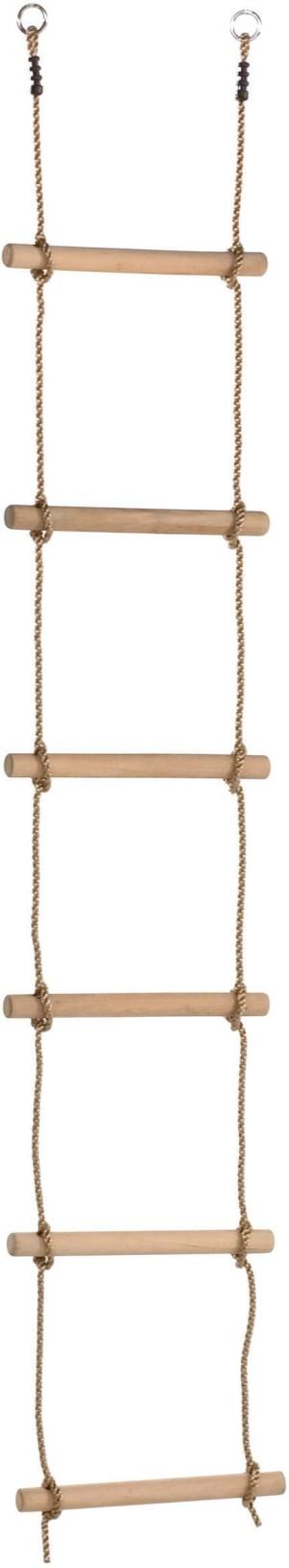 Touwladder 10 sporten (PP-touwenset) - schommelbalkhoogte 3,5 m.