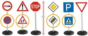 Verkeersborden Set Big-signs-megaset