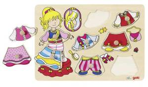 Aankleed Puzzel Prinses