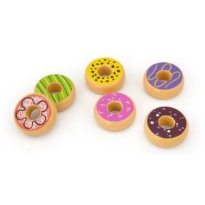 Donuts set 6-delig Vigatoys