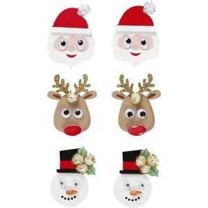 3D stickers Kerst