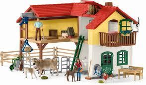 Boerderij met stal en dieren - Schleich 42407
