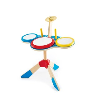 Hape Drum and Cymbal Set - Drumstel