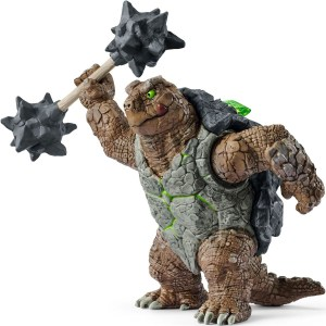 Pantserschildpad met wapen - Schleich 42496