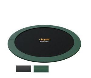 Avyna FlatLevel trampoline ø305cm (10 ft) groen/grijs