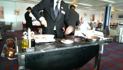 Signature dish - Celebrity Infinity SS United States Restaurant