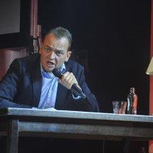 De presentator Patrick Spekman