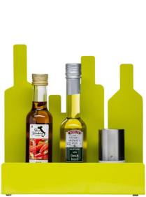 Form Bottle Stand in Lime