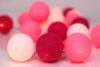 Flamingo: Snow White, Pink & Raspberry