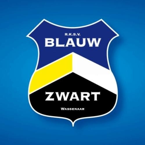 Sponsor Blauw Zwart