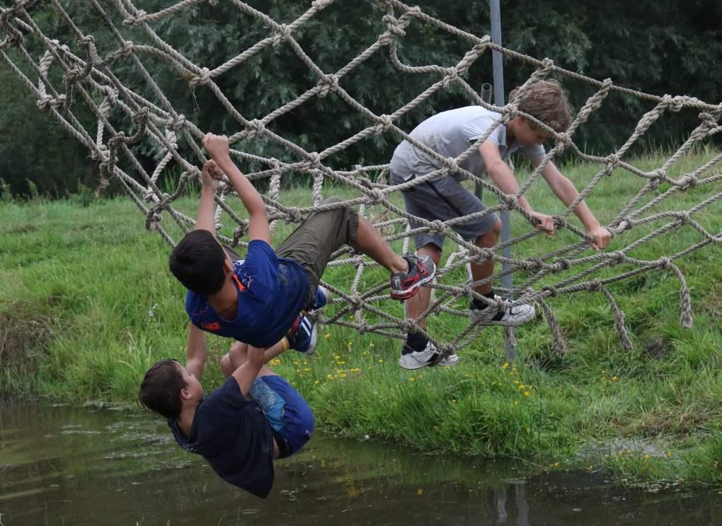 Spelenderwijs sfeerimpressie in de netten