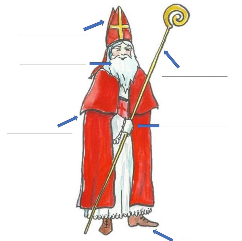 Worksheets Saint Nicholas