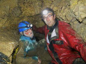 Grotte des Tines - Eugène et Patrick